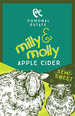 Apple Cider Semi Sweet label