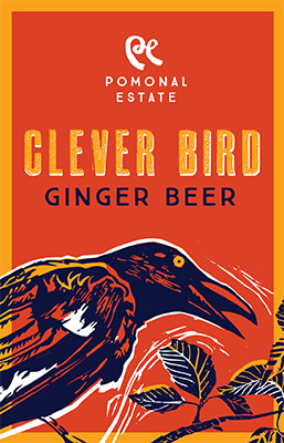 Ginger Beer - label