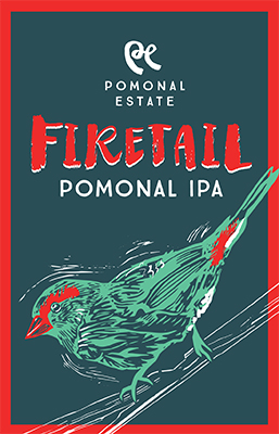 Pomonal IPA Beer label