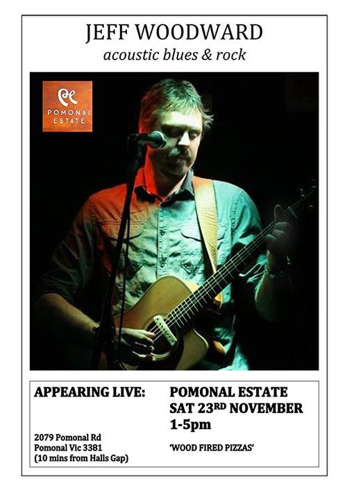 Jeff Woodward at Pomonal Estate Poster