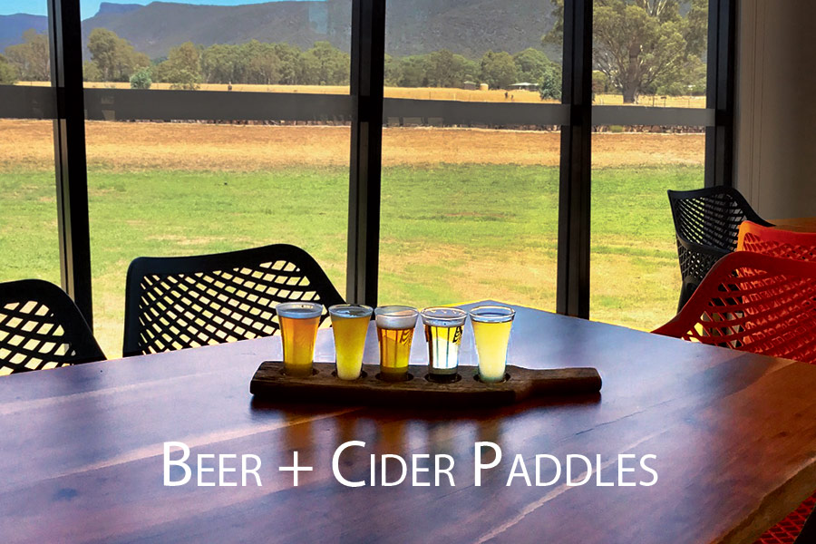 Cider and Beer Paddles