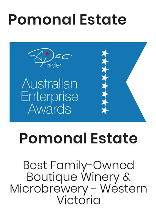 Pomonal Estate - Australian Enterprise Award winner