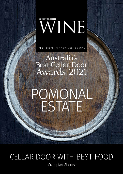 Gourmet Wine Traveller Award 2021