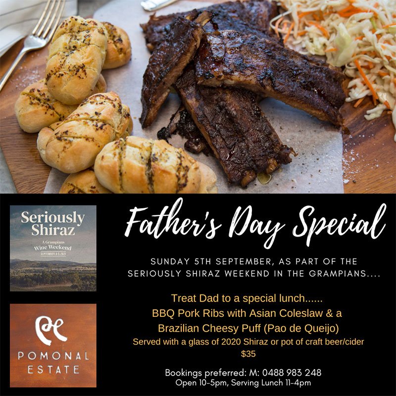 Pomonal Estate Fathers Day Special 2021